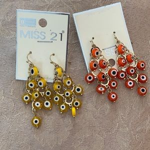 Evil Eye earrings!